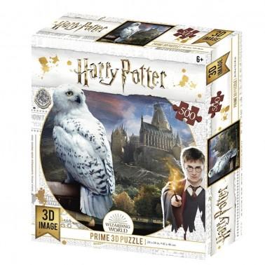 Puzzle lenticular Harry Potter Hedwig 500 piezas
