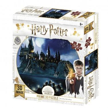 Puzzle lenticular Harry Potter Hogwarts 500 piezas