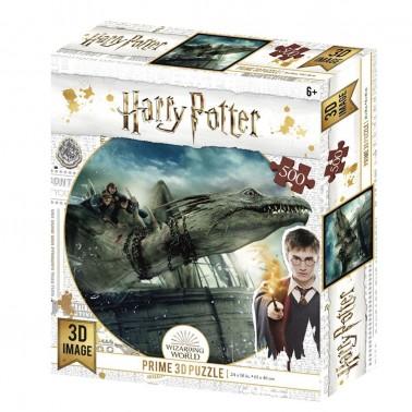 Puzzle lenticular Harry Potter Norbert 500 piezas