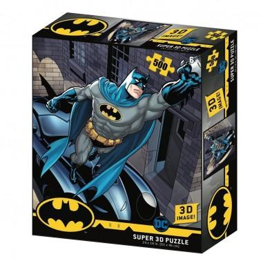 Puzzle lenticular DC Comics Batmobile 500 piezas