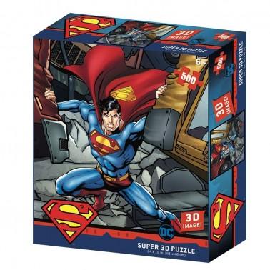 Puzzle lenticular DC Comics Superman 500 piezas