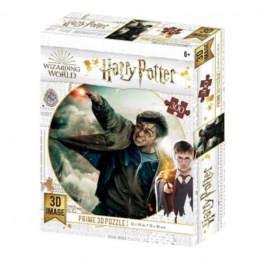 Puzzle lenticular Harry Potter Batalla 300 piezas