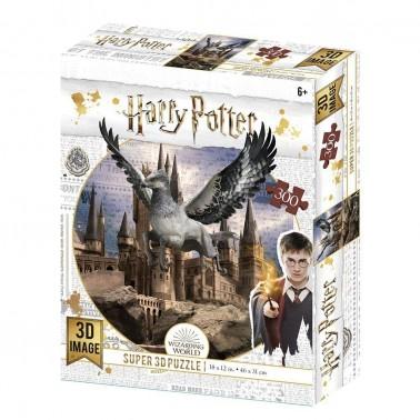 Puzzle lenticular Harry Potter Buckbeak 300 piezas