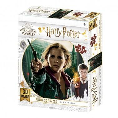 Puzzle lenticular Harry Potter Hermione Granger Batalla 300 piezas