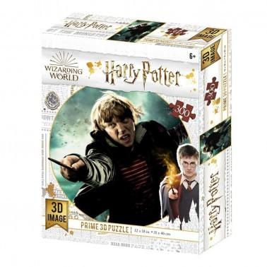 Puzzle lenticular Harry Potter Ron Weasley Batalla 300 piezas
