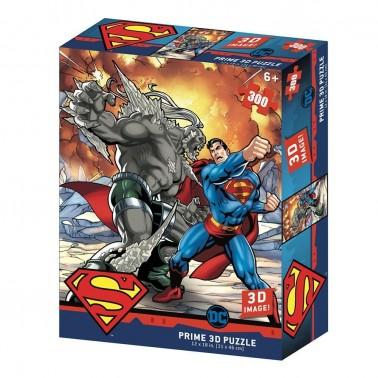 Puzzle lenticular DC Comics Superman vs, Doomsday