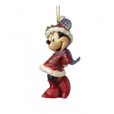 Adorno Navideño de Minnie Mouse