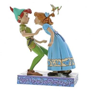 Figura de colección Peter Pan y Wendy