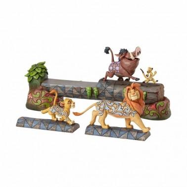 Figura decorativa Timón, Pumba y Simba