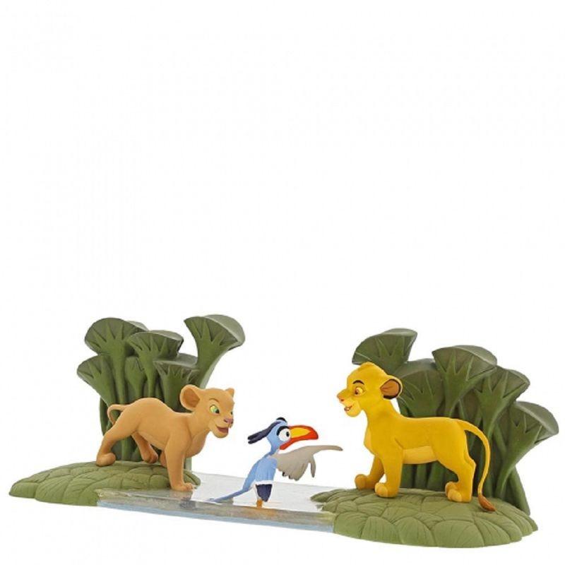 Figura decorativa Simba, Nala y Zazó