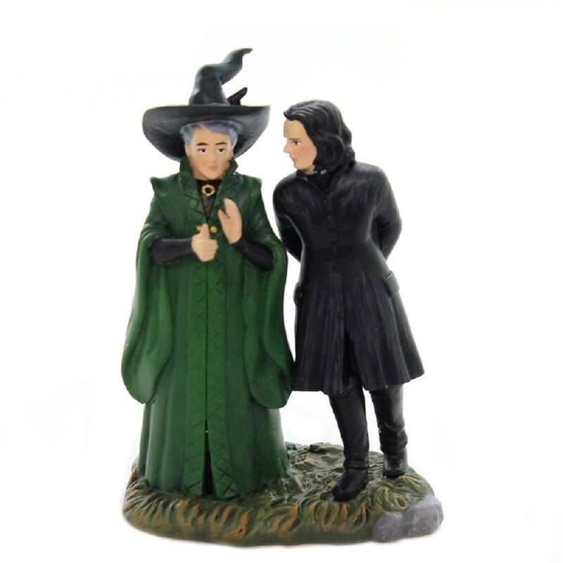 Figura decorativa Harry Potter Snape y McGonagal