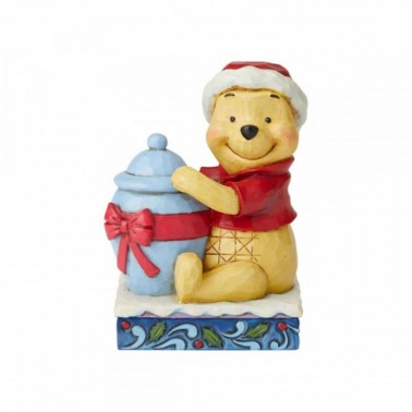 Figura decorativa Winnie The Pooh en Navidad