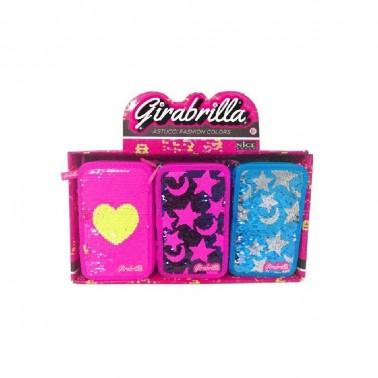 Pack de 6 estuches escolares Girabrilla