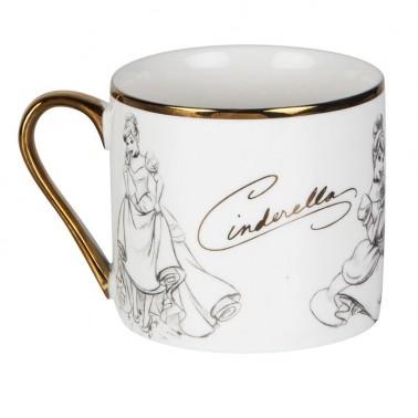 Taza cerámica La Cenicienta