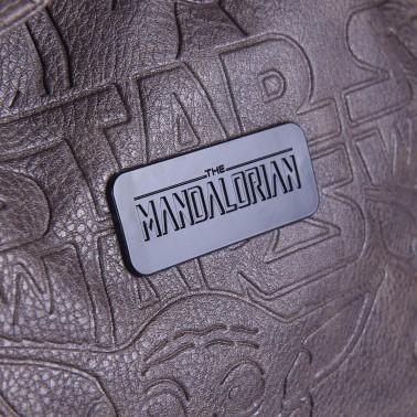 Mochila de viaje marrón Mandalorian