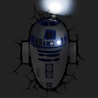 Lámpara 3D R2D2