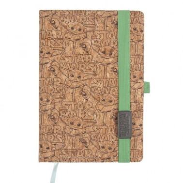Cuaderno de corcho The Mandalorian