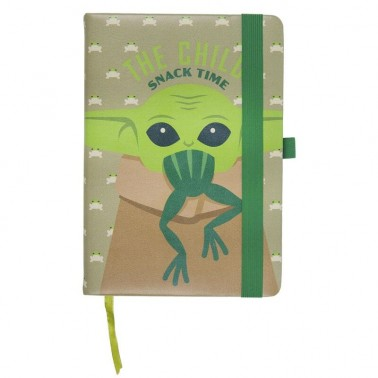 Cuaderno The Mandalorian Snack Time