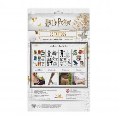 Tatuajes temporales Harry Potter Varios