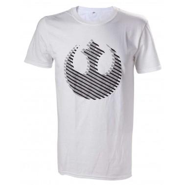 Camiseta Blanca Star Wars Rebel