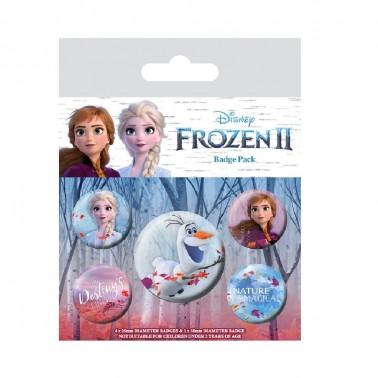 Set de chapas Disney Frozen 2 Varios