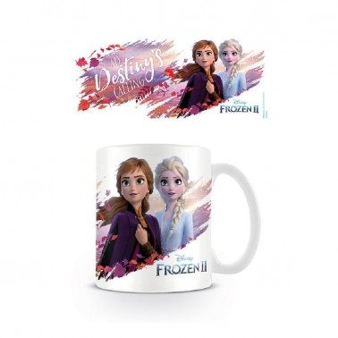 Taza Desayuno Frozen II Anna y Elsa