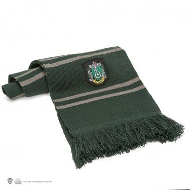Bufanda Harry Potter Escudo Slytherin