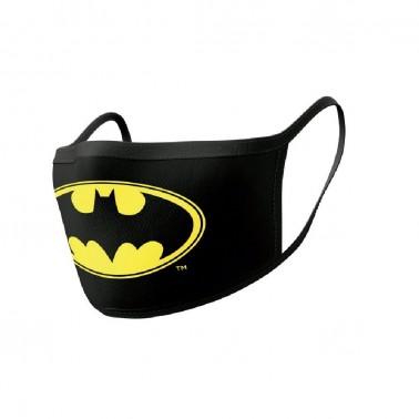 Pack de 2 mascarillas textiles premium Batman
