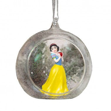 Adorno navideño Blancanieves Princesa en 3D