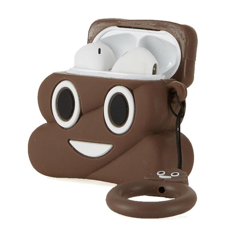 Auriculares Bluetooth Emoji Poop