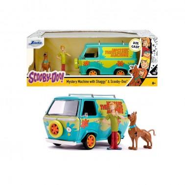 Set figuras Mistery Machine, Shaggy y Scooby Doo 1:24