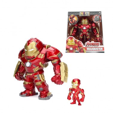 Set de dos figuras Iron Man Hulkbuster