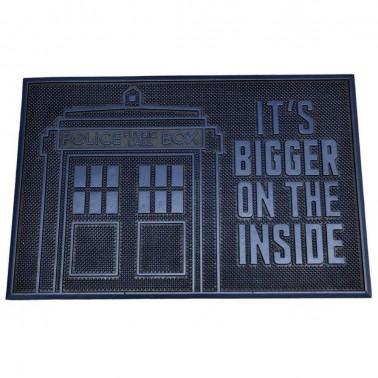 Felpudo de caucho Dr Who