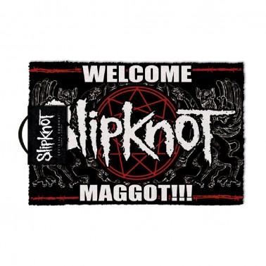 Felpudo Slipknot Welcome Maggot