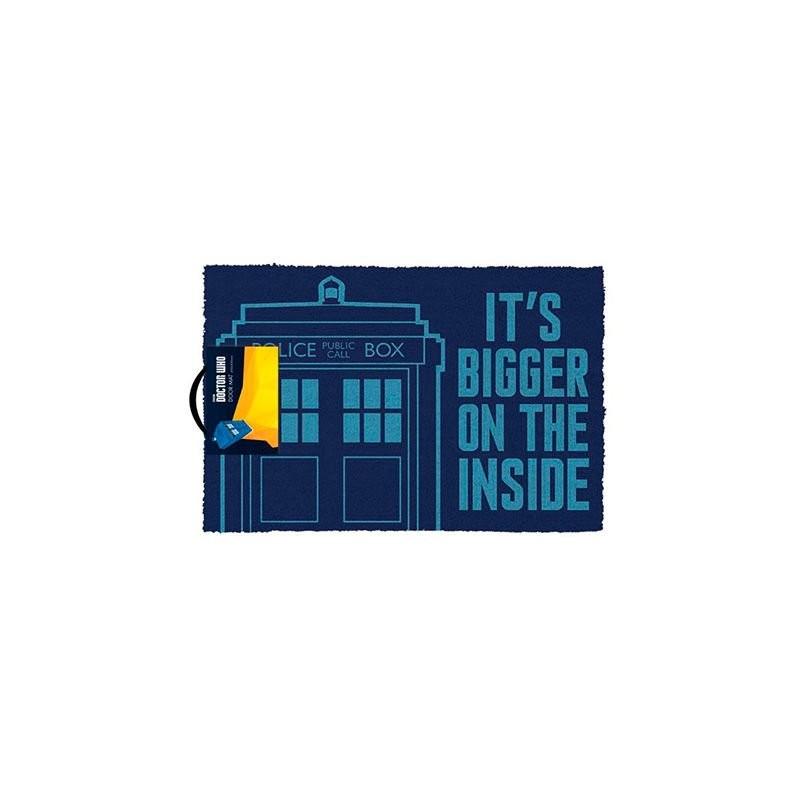 Felpudo Doctor Who