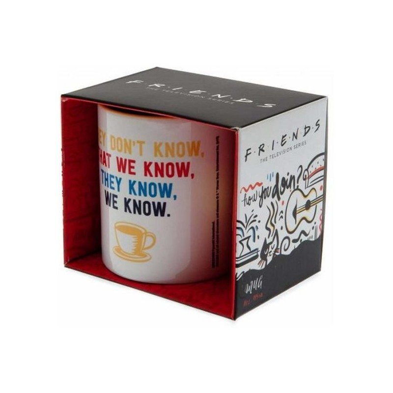 Taza Friends They Don't Know We Know
