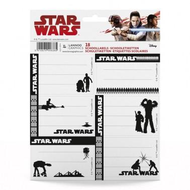 Etiquetas Identificadoras Star Wars