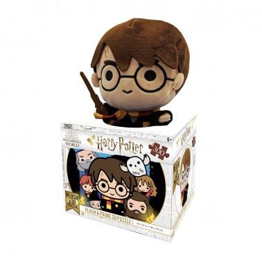 Puzzle lenticular 3D Harry Potter con peluche