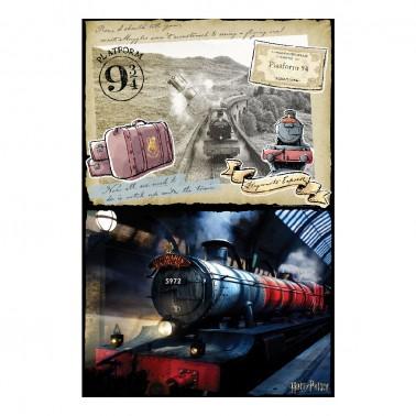 Puzzle 3D-Rasca Hogwarts Express