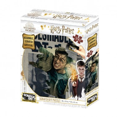 Puzzle 3D-Rasca Harry Potter Wanted