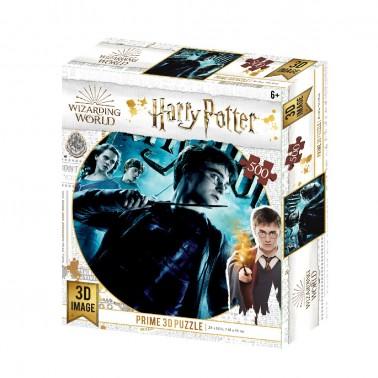 Puzzle lenticular 3D Harry Potter 500 piezas