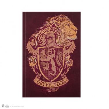 Cuaderno A5 Gryffindor