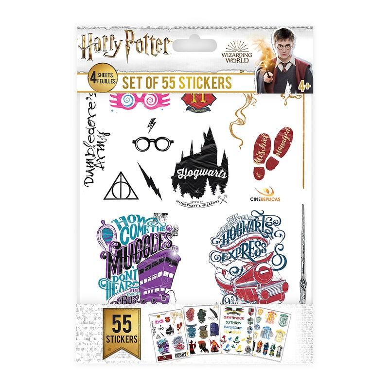 Juego de pegatinas Harry Potter