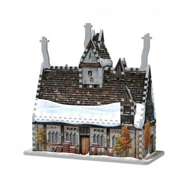 Puzzle 3D Harry Potter Las Tres Escobas (395 piezas)
