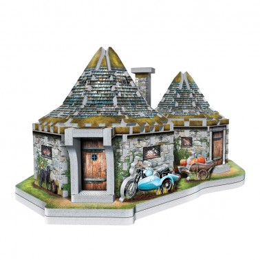 Puzzle 3D Harry Potter La Choza de Hagrid (270 piezas)
