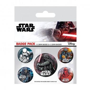 Set de chapas Star Wars