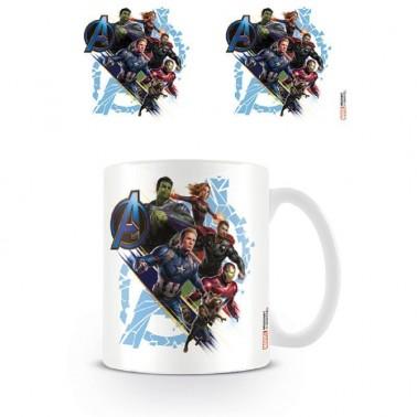 Taza Avengers Endgame Vengadores