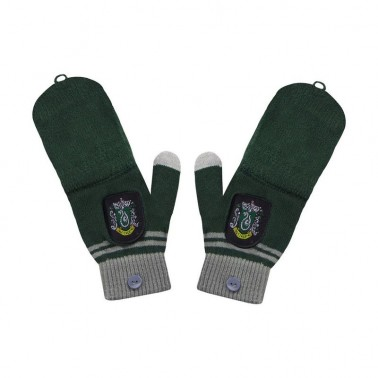 Guantes sin dedos Harry Potter Slytherin