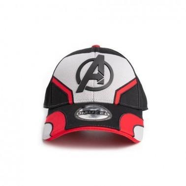Gorra gris y roja Avengers Quantum