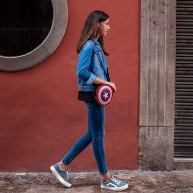 Bolso bandolera Marvel Capitán América para niños